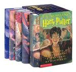 Harry Potter Hardcover Box Set with Leather Bookmark