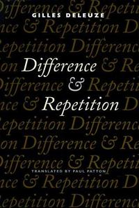 Difference and Repetition cover