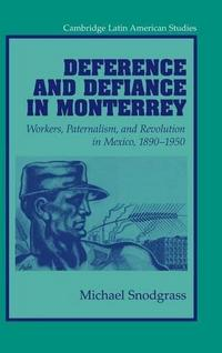 Deference and Defiance in Monterrey cover