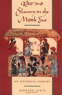 Race and Slavery in the Middle East cover