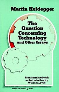 The Question Concerning Technology cover