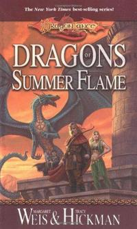 Dragons of Summer Flame cover