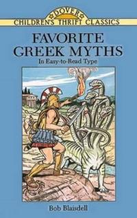 Favorite Greek Myths cover