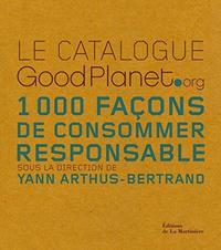 Le catalogue GoodPlanet.org cover