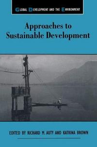 Approaches to Sustainable Development cover