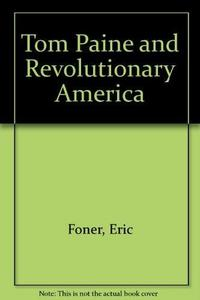 Tom Paine and Revolutionary America cover