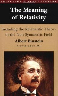 The Meaning of Relativity cover