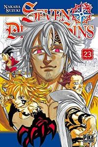 Seven Deadly Sins T23 cover