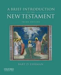 A Brief Introduction to the New Testament cover