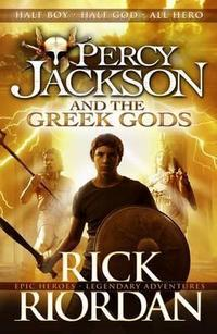 Percy Jackson's Greek Gods cover