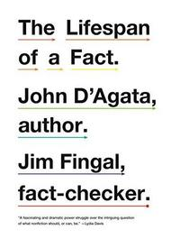 The Lifespan of a Fact cover