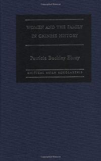 Women and the family in Chinese history cover