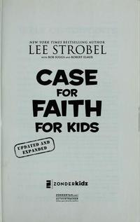 The case for faith for kids cover