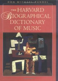 The Harvard Biographical Dictionary of Music cover