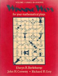 Winning Ways for your Mathematical Plays cover