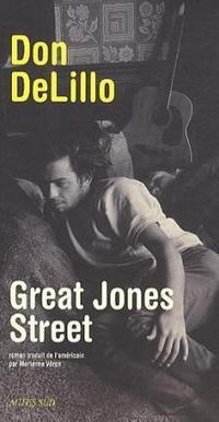 Great Jones Street cover
