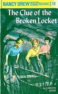The Clue of the Broken Locket cover