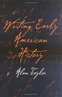 Writing early American history cover