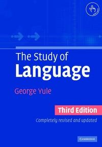 The Study of Language cover