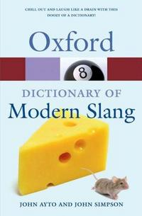 Oxford Dictionary of Modern Slang cover