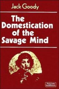 The domestication of the savage mind cover
