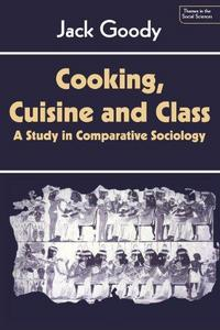 Cooking, Cuisine and Class cover