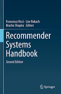 Recommender Systems Handbook cover