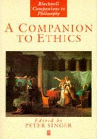 A Companion to ethics cover