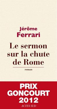 The Sermon on the Fall of Rome cover
