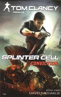 Tom Clancy's Splinter Cell: Conviction (novel) cover