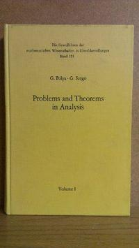 Problems and theorems in analysis cover