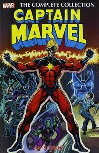 Captain Marvel by Jim Starlin: The Complete Collection cover