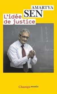 The Idea of Justice cover