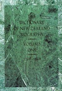 Dictionary of New Zealand Biography cover