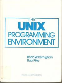 The Unix Programming Environment cover