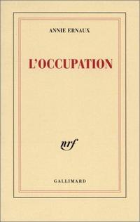 L'occupation cover