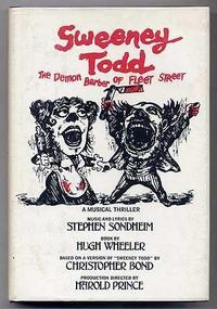 Sweeney Todd, the demon barber of Fleet Street cover