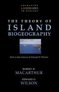 The Theory of Island Biogeography cover