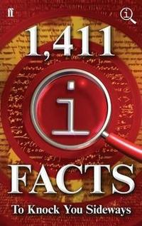 1,411 QI Facts to Knock You Sideways cover