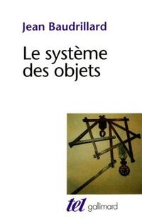 The System of Objects cover