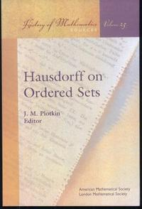 Hausdorff on Ordered Sets cover