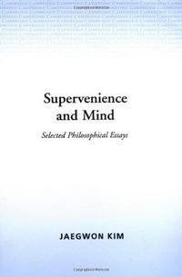 Supervenience and Mind cover