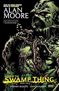 Saga of the Swamp Thing cover