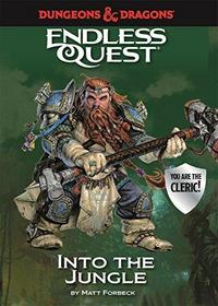 Dungeons & Dragons Endless Quest: Into the Jungle cover