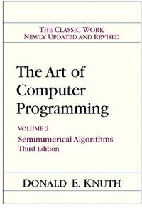 Art of Computer Programming, Volume 2 cover