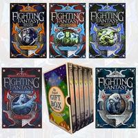 Fighting Fantasy Series (1-5) Steve Jackson and Ian Livingstone Collection 5 Books Bundle Gift Wrapped Slipcase Specially For You cover