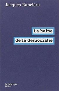 Hatred of democracy cover