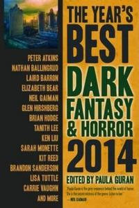 The Year's Best Dark Fantasy & Horror cover