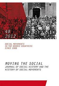 Social Movements in the Nordic Countries since 1900 cover