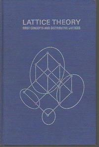 Lattice Theory; First Concepts and Distributive Lattices. cover